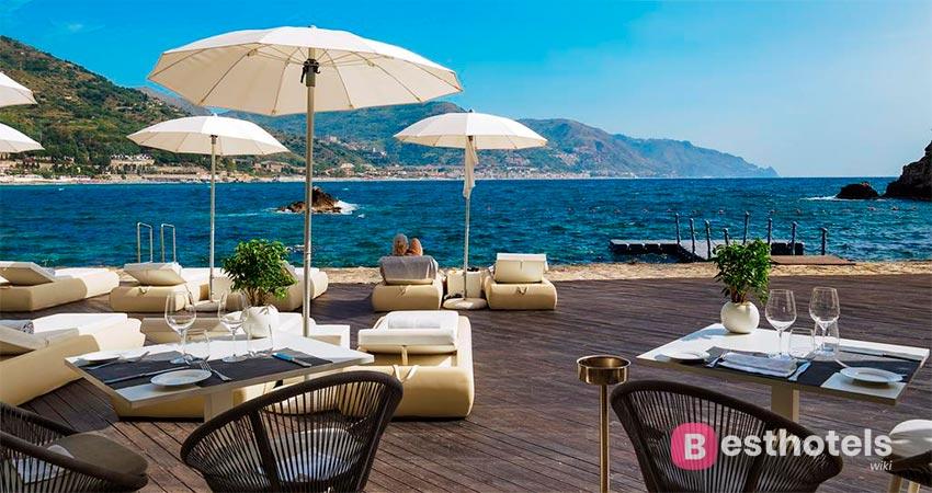 элитарный курорт Сицилии со своим пляжем - Atlantis Bay