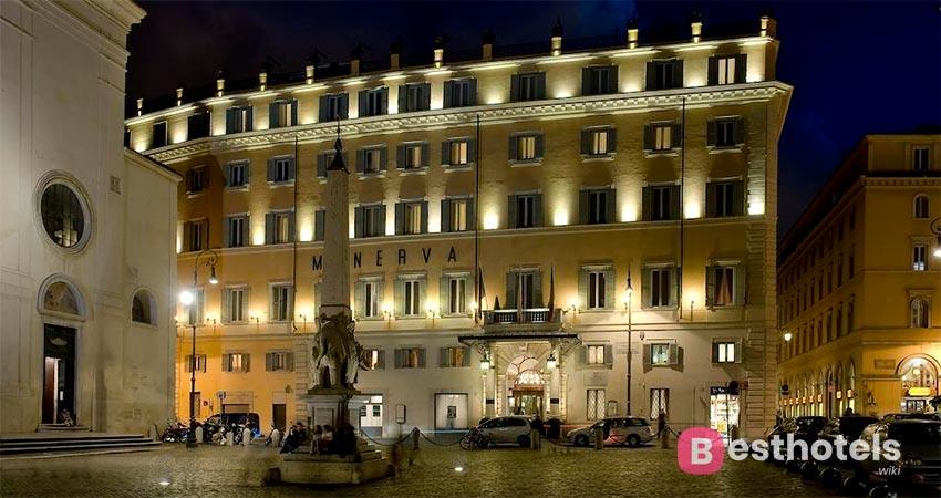 Бесподобный отель в Риме - De La Minerve