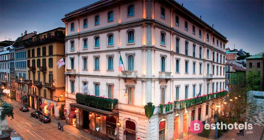 Luxury location in Milan - Grand Hotel et de Milan