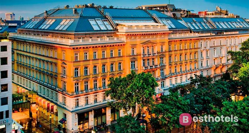 Grand Hotel - одно из элитарных мест в Вене