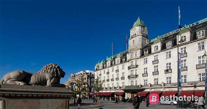 легендарный Grand Hotel в Осло