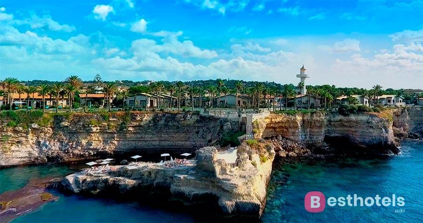 несравненный отель Сицилии со своим пляжем - Minareto