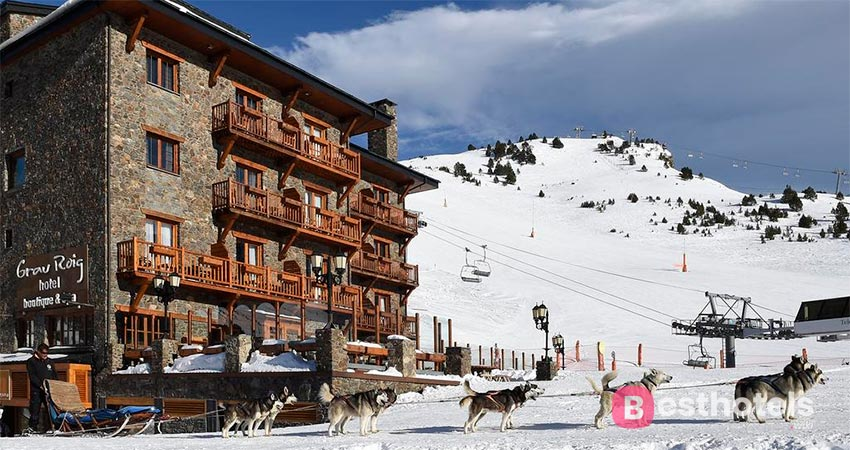безупречная гостиница в Андорре - Grau Roig