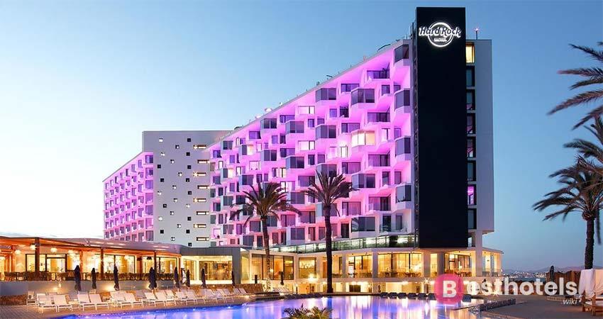Великолепный курортный комплекс - Hard Rock Ibiza
