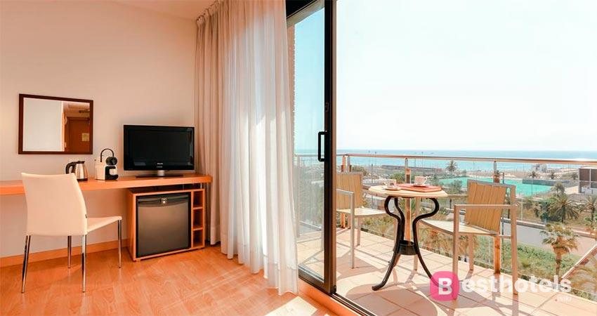 optimal resort by the sea in Barcelona - Hesperia del Mar