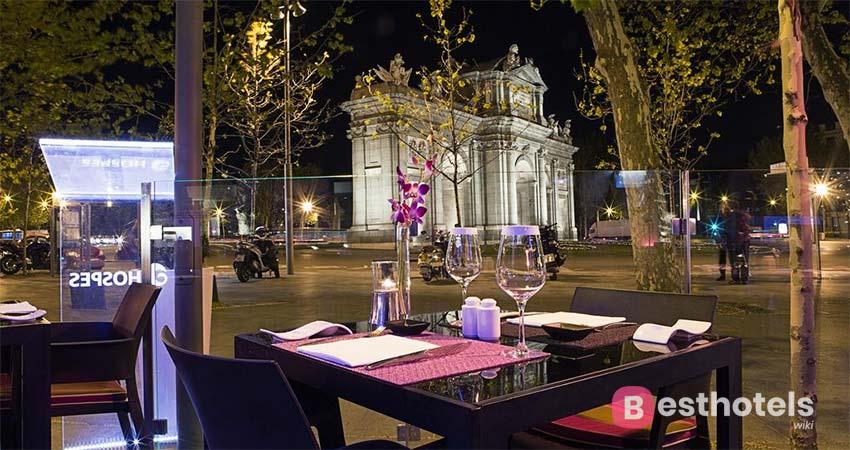 Luxury hotel in Madrid - Hospes Puerta de Alcalá