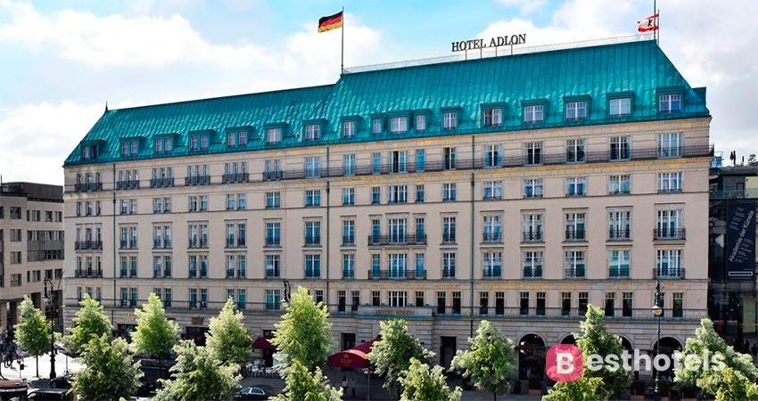 легендарный отель в Берлине - Adlon Kempinski