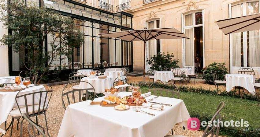 Hôtel Alfred Sommier - одна из романтичных гостиниц в Париже