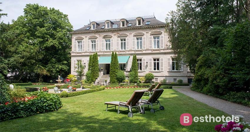 Paradise complex Baden-Baden Belle Epoque with thermal pool