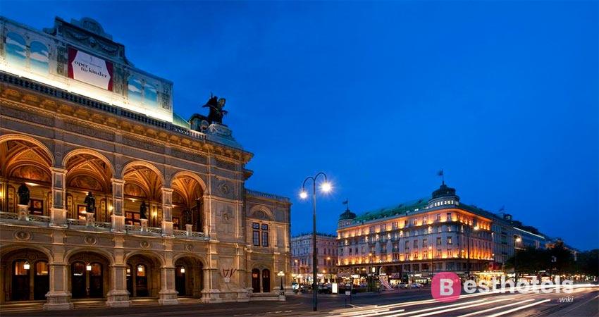 Bristol - безупречный отель в Вене