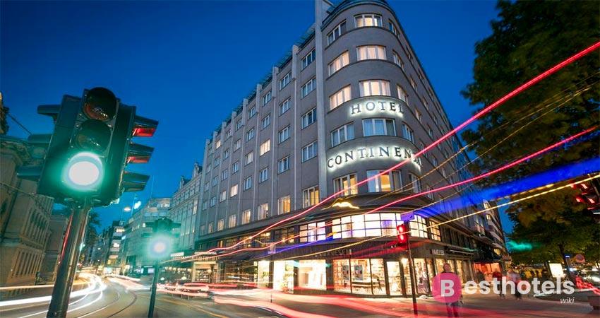гостиница без изъяна в Осло - Continental