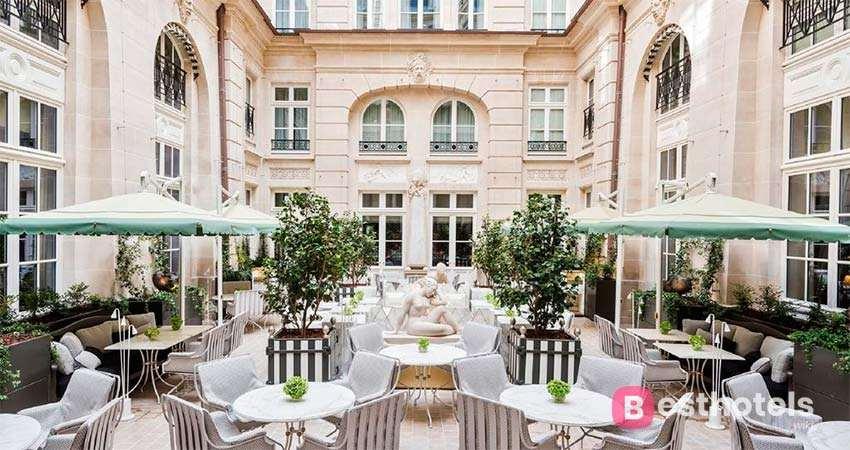 Роскошные отели бутики в Париже - De Crillon
