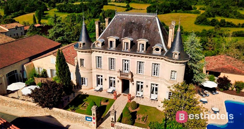 отель в особняке во Франции - Edward 1er