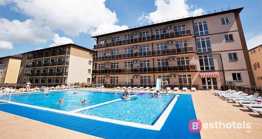 Лучшие места для отдыха семьей - гранд-отель Прибой