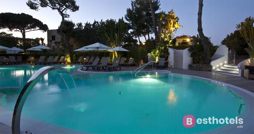 безупречный отель с термальными источниками на острове Искья - Hermitage Park Terme