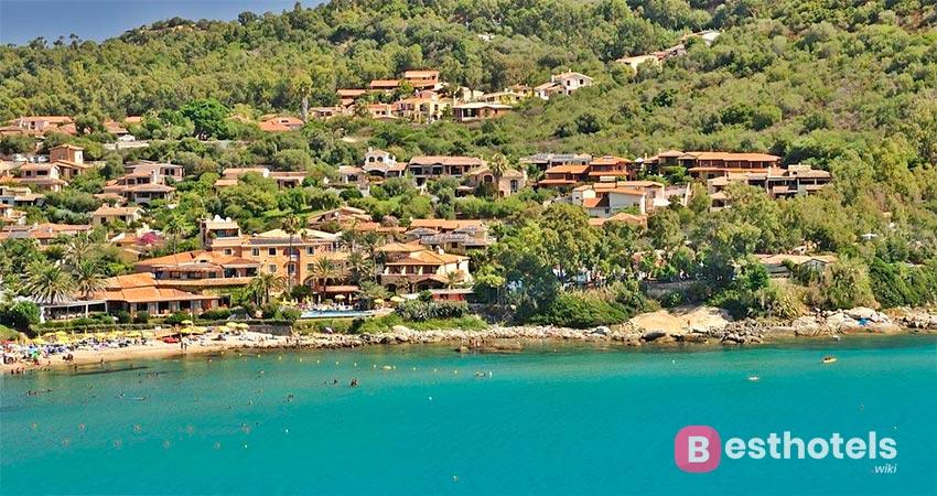 seaside resort complex in Sardinia - La Bitta