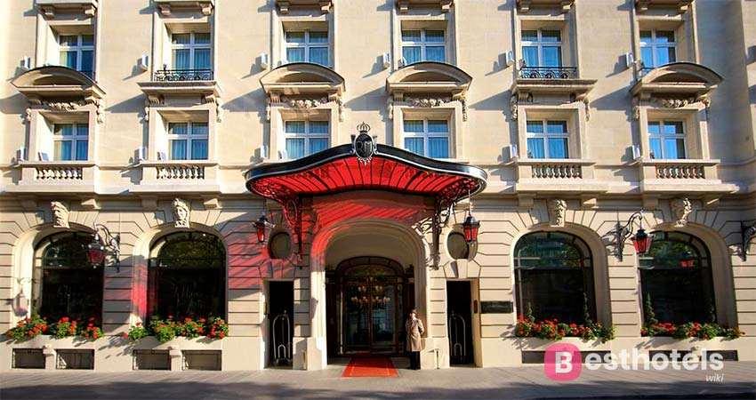 Hôtel Le Royal Monceau Raffles - одна из самых лучших гостиниц Парижа