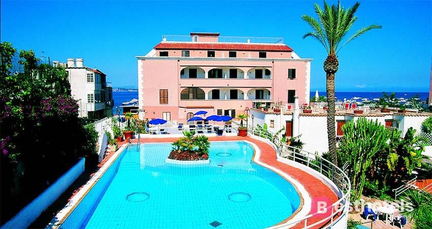 оптимальный гостиничный комплекс с термальными источниками на острове Искья - Mare Blu Terme