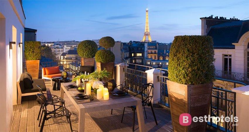 элитарное место в Париже - Marignan Champs-Elysées