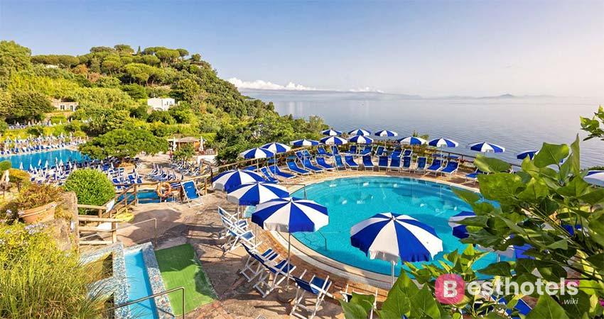 несравненный курорт с термальными источниками на острове Искья - Oasi Castiglione