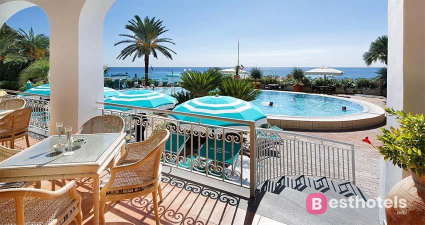 идеальная гостиница с термальными источниками на острове Искья - Parco Smeraldo Terme