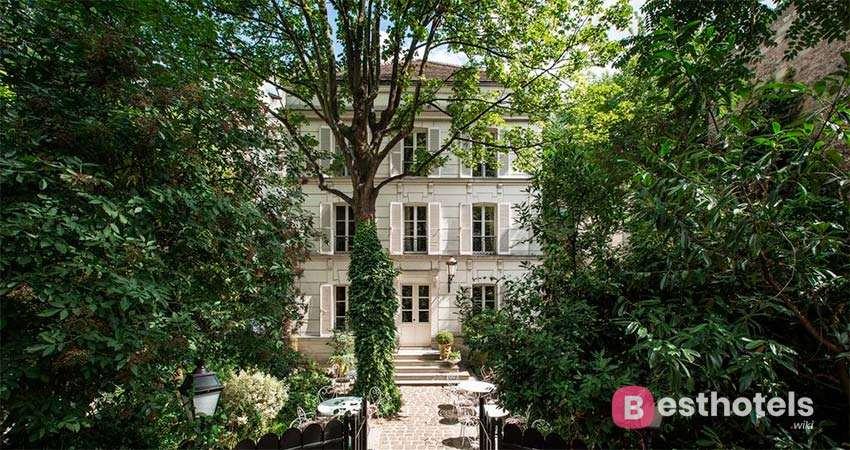 Самые лучшие места Парижа - Hôtel Particulier Montmartre