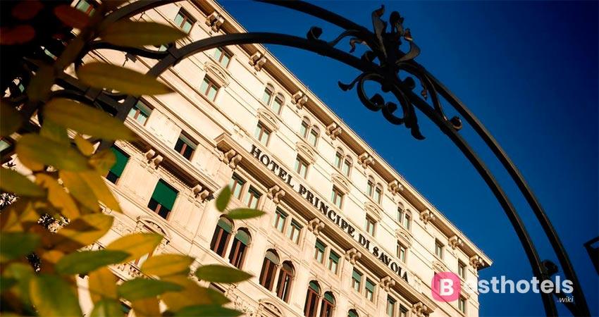 ideal hotel complex in Milan - Princie di Savoia