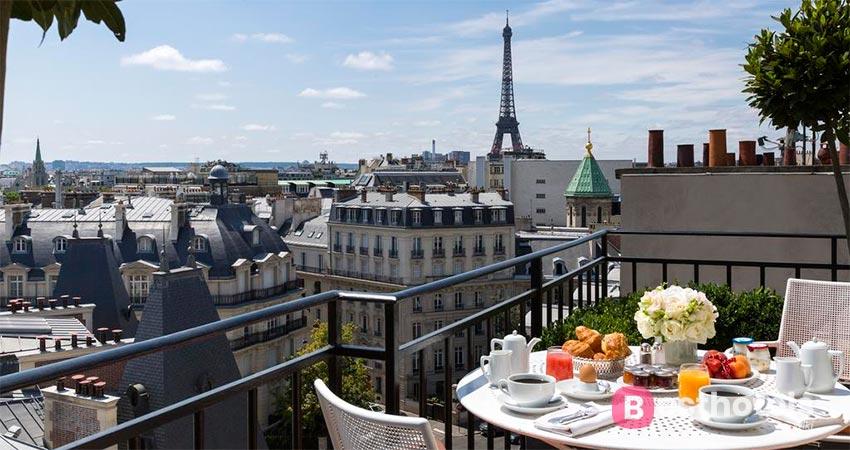 предпочтительный отель в Париже - San Régis
