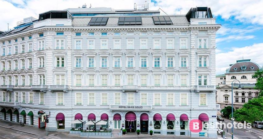 элитный отель в Вене - Sans Souci