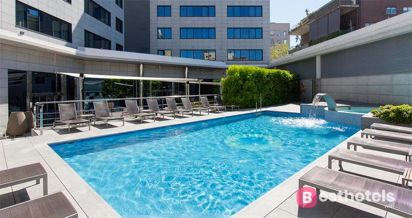 comfortable hotel by the sea in Barcelona - Hotel SB Icaria Barcelona