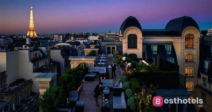 The Peninsula, Paris- один из роскошных бутик отелей в Париже
