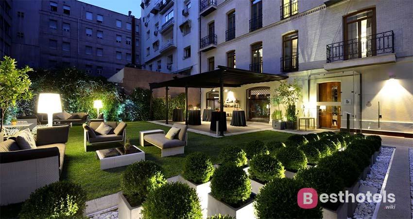 luxury hotel complex in Madrid - Unico