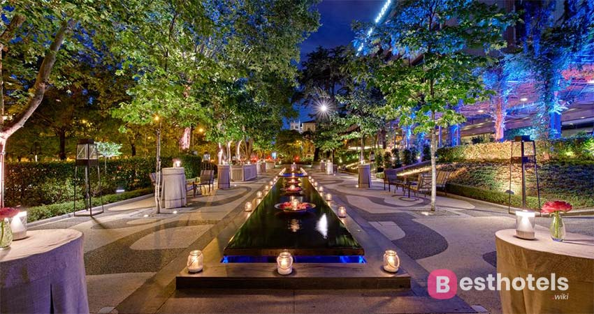 luxury holiday destination in Madrid - Villa Magna