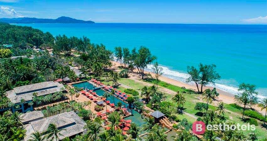 Отель JW Marriott Phuket на пляже Mai Khao