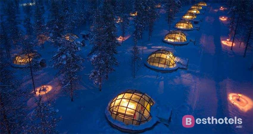 extraordinary hotel in Finland - Kakslauttanen Arctic Resort