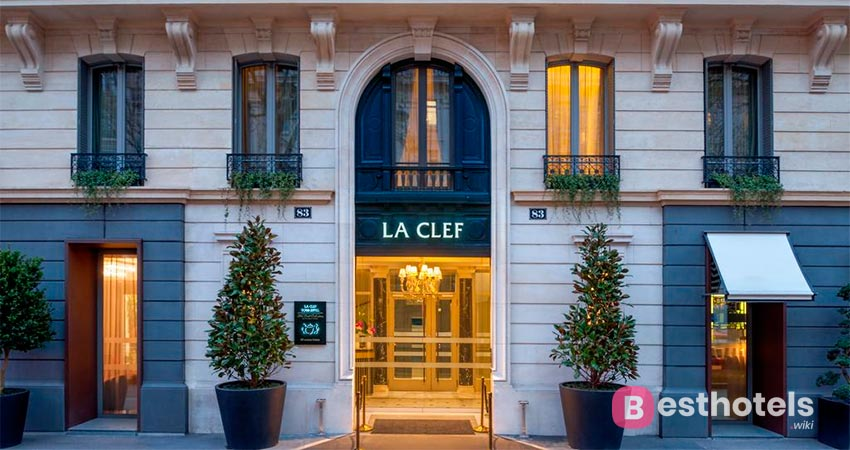 люксовое место в Париже - La Clef