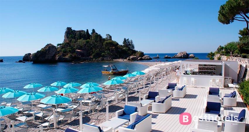 идеальный курортный комплекс Сицилии со своим пляжем - La Plage