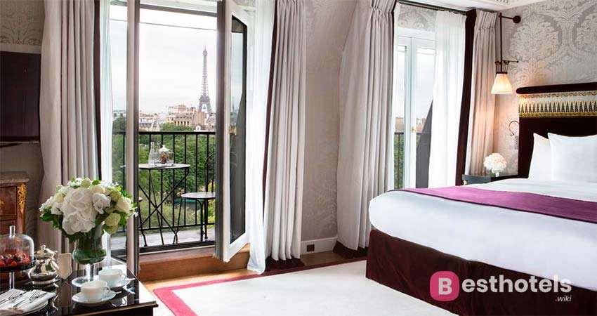 Роскошные места в Париже - La Réserve Paris Hotel & Spa