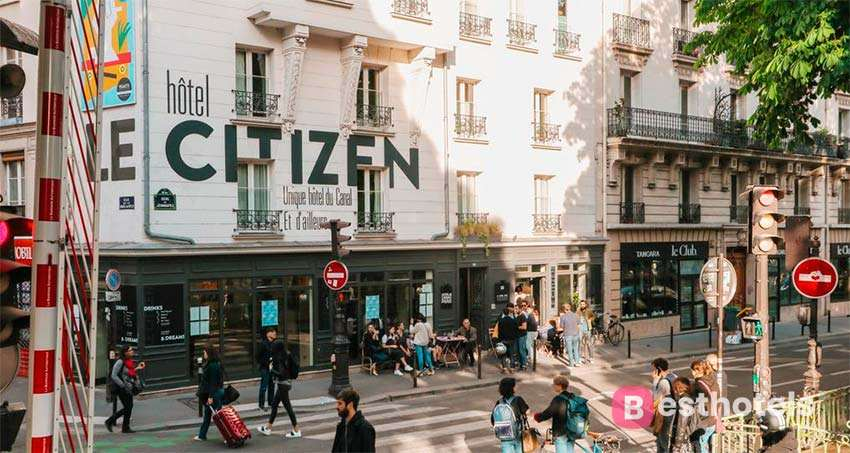 Le Citizen Hotel - the finest canal hotel in Paris