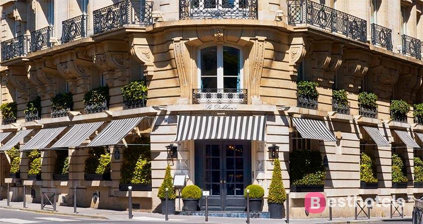 первосортный гостиничный комплекс в Париже - Le Dokhan's