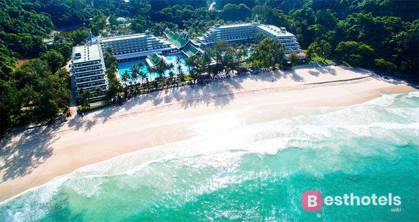 Отель Le Meridien Phuket Beach Resort, между Patong и Karon Beach