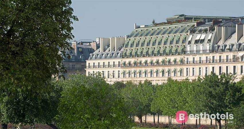 Le Meurice - один из самых роскошных отелей Парижа