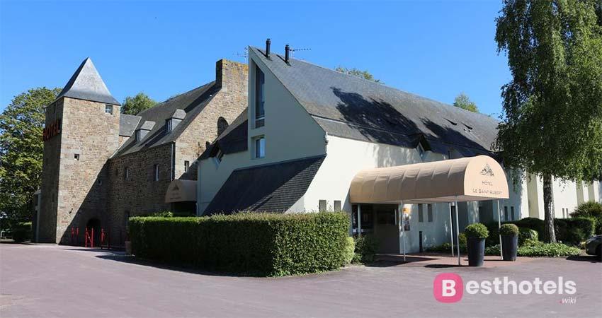 Необычная и чарующая резиденция в Мон-Сен-Мишель - Le Saint Aubert