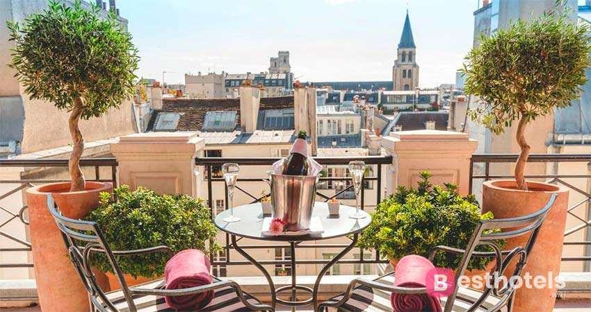 L'Hôtel - одна из роскошных гостиниц Парижа