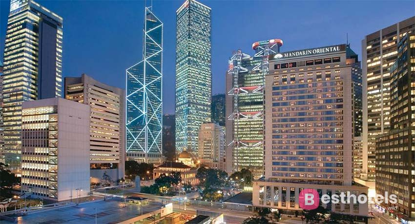 Роскошный отель в Гонконге - Mandarin Oriental