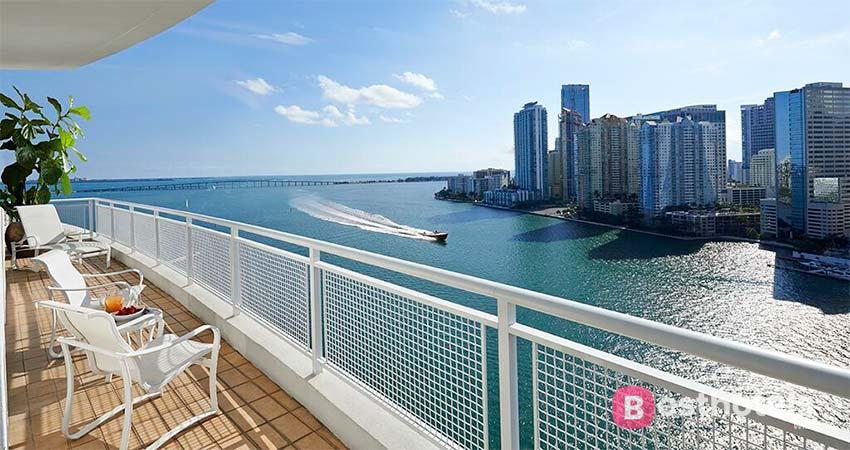элитное место для отдыха в Майами - Mandarin Oriental