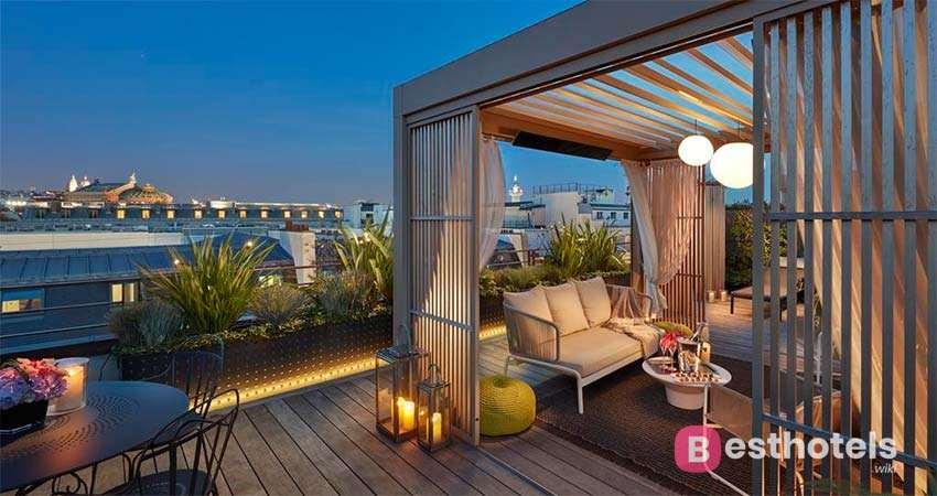 Самые роскошные гостиницы Парижа - Mandarin Oriental