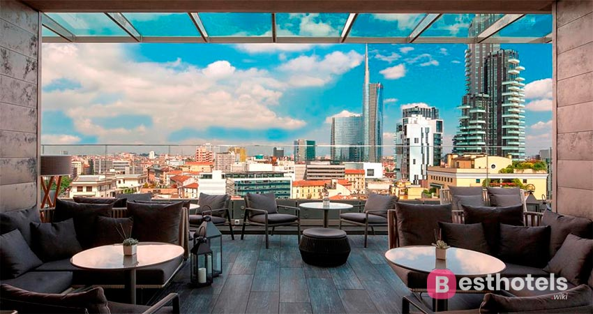 ultra-modern hotel in Milan - ME Milano Il Duca
