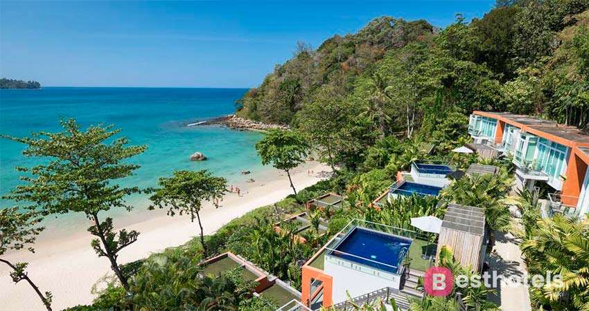 Гостиница Novotel Phuket на пляже Kamala