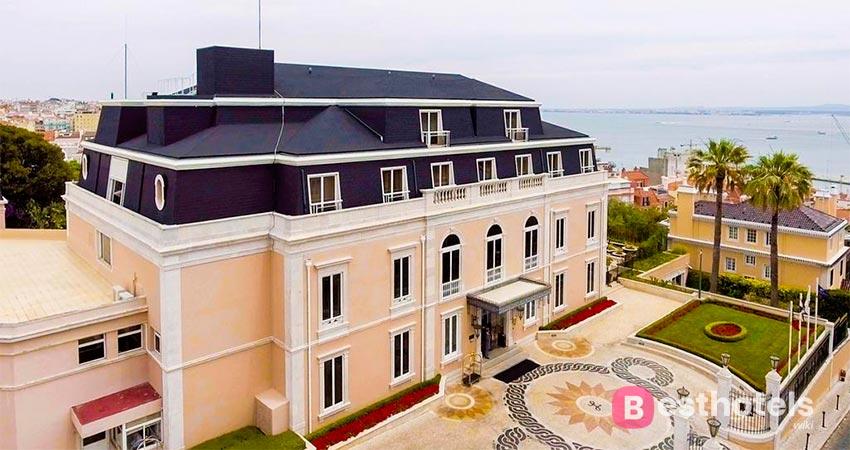 Lisbon's preferred hotel complex - Olissippo Lapa Palace